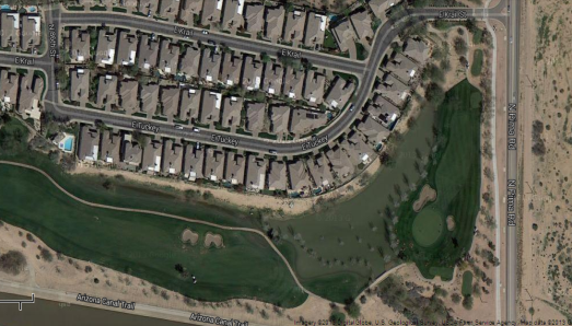 Golf GPS App Satellite Imagery