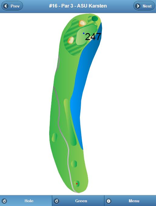 ASU Karsten Golf Course Hole 16
