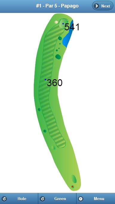 Papago Golf Club Hole 1