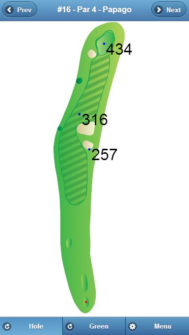 Papago Golf Course Hole 16