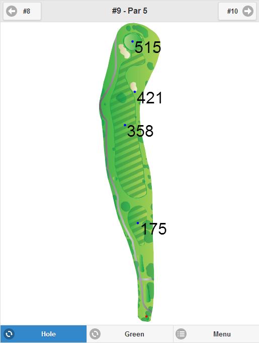 Scottsdale Silverado Golf Club Hole 9