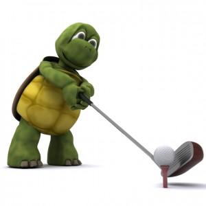 Slow Golfer