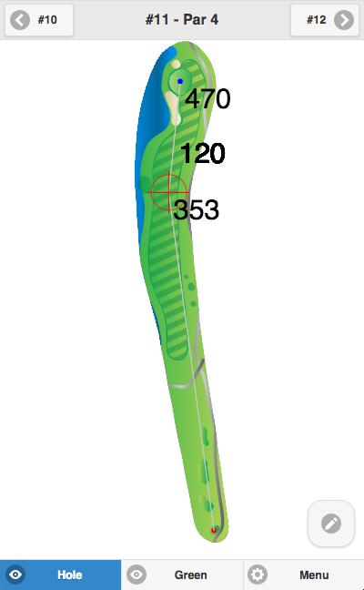 Golf GPS Running in Offline Mode